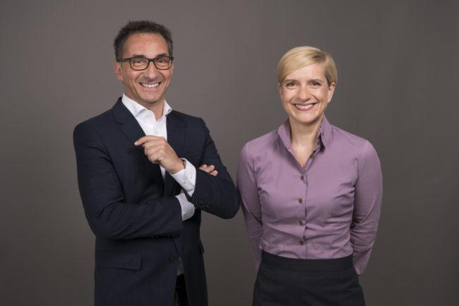 Axel Zuschmann und Nicole Bäck Knapp