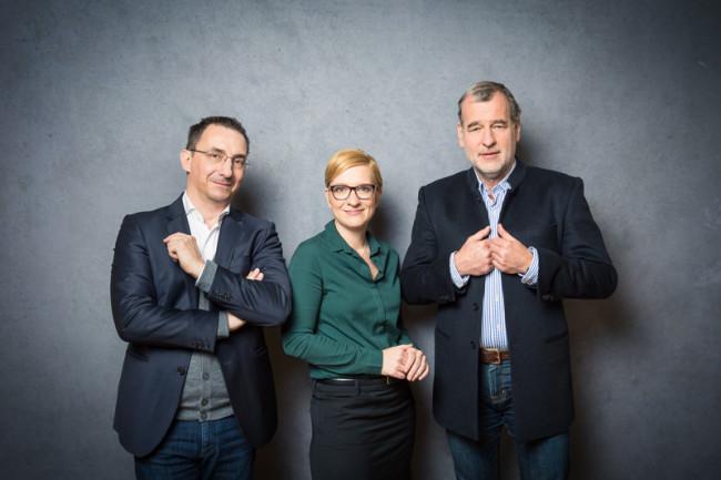 Axel Zuschmann, Nicole Bäck, Dietmar Ecker