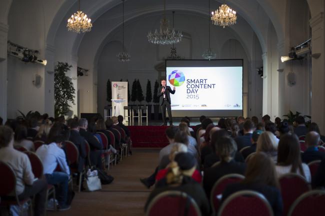 Smart Content Day 2015 in der Orangerie Schönbrunn