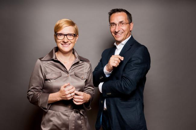 Nicole Bäck und Axel Zuschmann, Geschäftsführung von Ecker & Partner