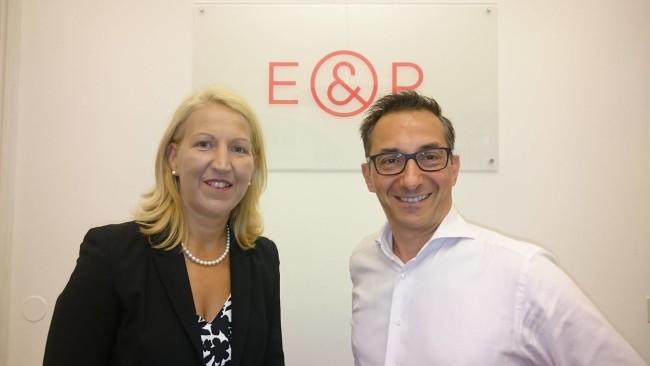 Ulrike Huemer und Axel Zuschmann I E&P Am Sofa