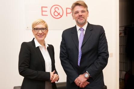 Nicole Bäck & Matthias Karmasin, E&P Business Breakfast