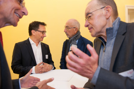 Politologe Peter Filzmaier beim E&P Business Breakfast