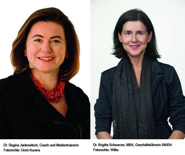 Regina Jankowitsch und Brigitta Schwarzer im Gespräch mit Ecker & Partner
