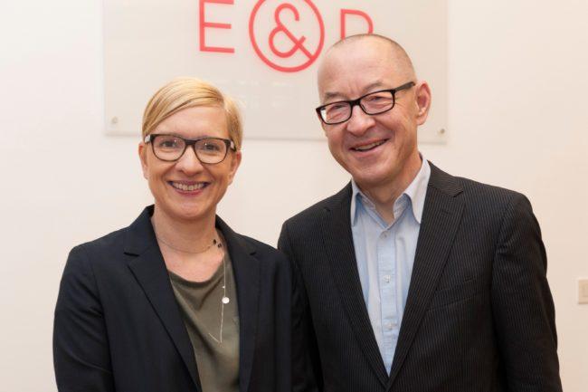 Nicola Bäck-Knapp und David Bosshart, Ecker & Partner Business Breakfast