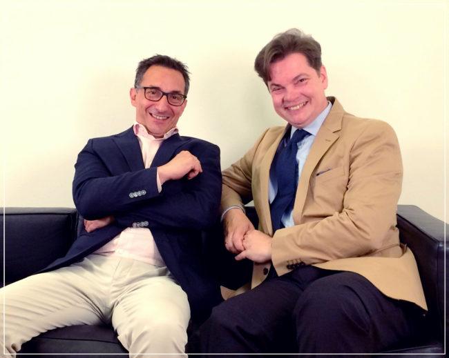 E&P am Sofa mit Christoph Neumayer