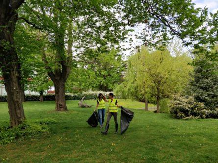20 Jahre 20 Taten, Frühjahrsputz Schweizergarten