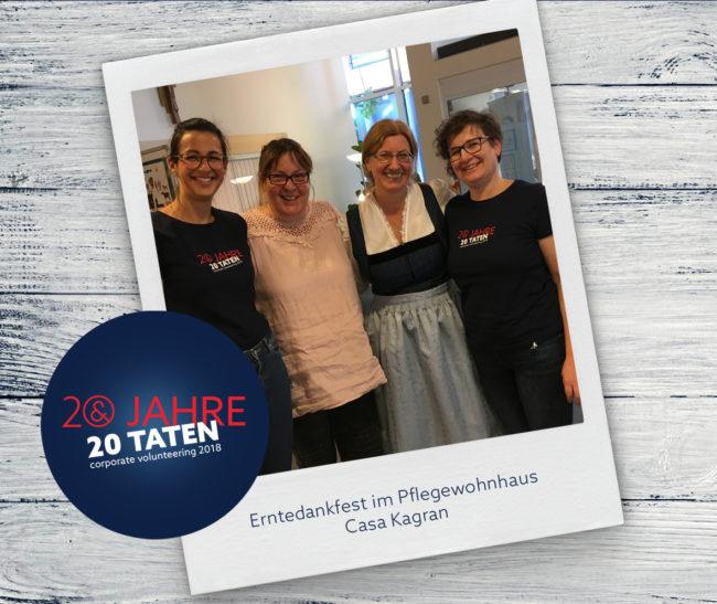 E&P 20 Jahre 20 Taten: Erntedankfest