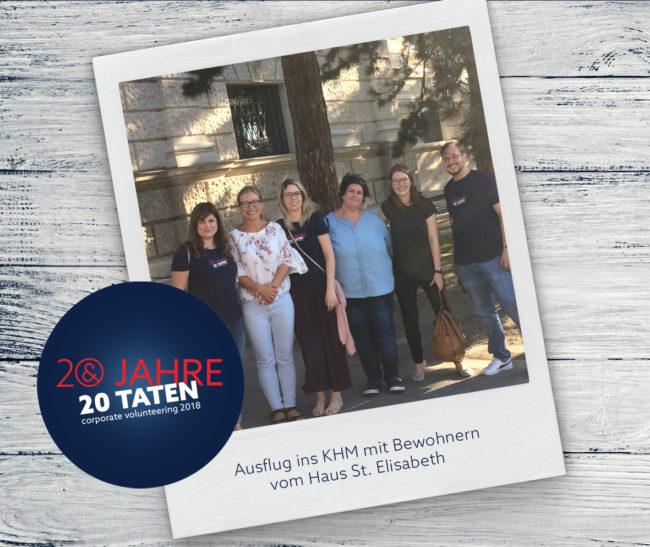 E&P 20 Jahre 20 Taten: KHM Ausflug