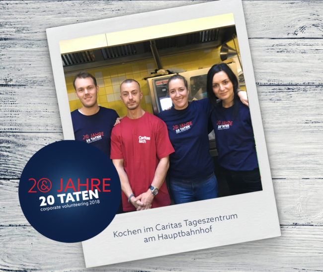 E&P 20 Jahre 20 Taten: Kochen im TAZ