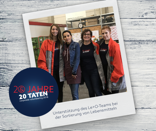 E&P 20jahre20taten, Le+O Lebensmittel und Orientierung der Caritas Wien