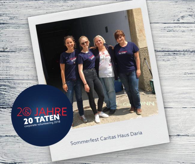 E&P 20 Jahre 20 Taten: Sommerfest Haus Daria