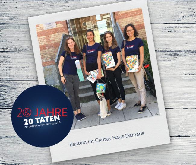 E&P 20 Jahre 20 Taten: Basteln Haus Damaris