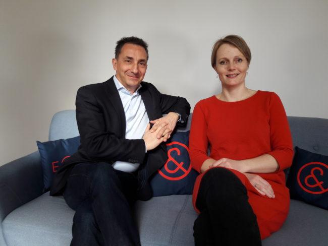 Axel Zuschmann und Eva Zeglovits, E&P Am Sofa