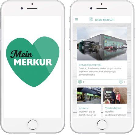 MERKUR Mitarbeiter App