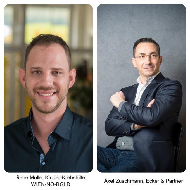 Rene Mulle und Axel Zuschmann