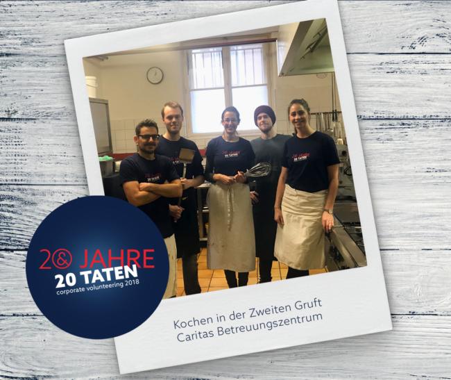 20 Jahre 20 Taten_Kochen für die 2. Gruft