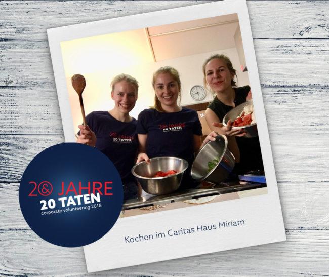 20 Jahre 20 Taten_Kochen Haus Miriam