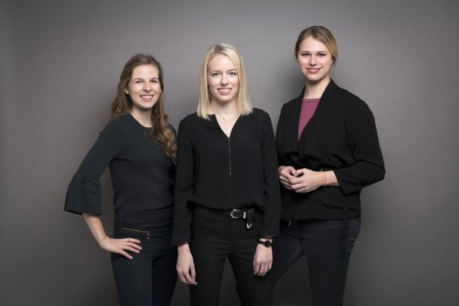 Eva Hubacek Andrea Köstler Lisa Pernkopf
