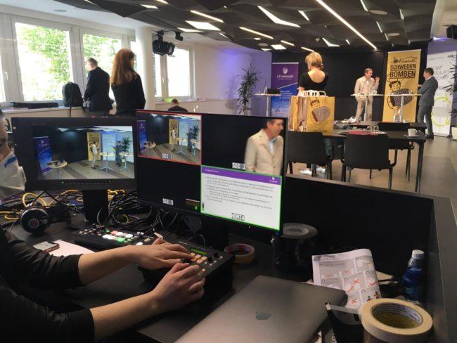 Virtuelle Pressekonferenz im APA Newsroom