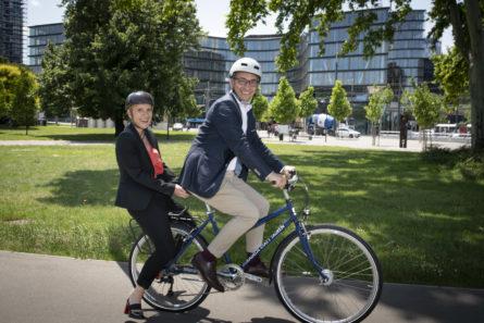 Radeln statt Tadeln, Ecker & Partner, PR Agentur Wien