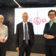 Nicole Bäck-Knapp (E&P), Martin Kocher (IHS), Theresia Vogel (Klima- und Energiefonds) beim E&P Business Breakfast