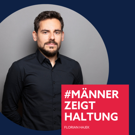 Florian Hajek, #männerzeigthaltung