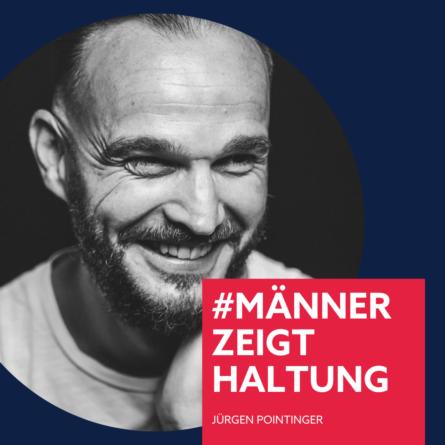Jürgen Pointier, #männerzeigthaltung